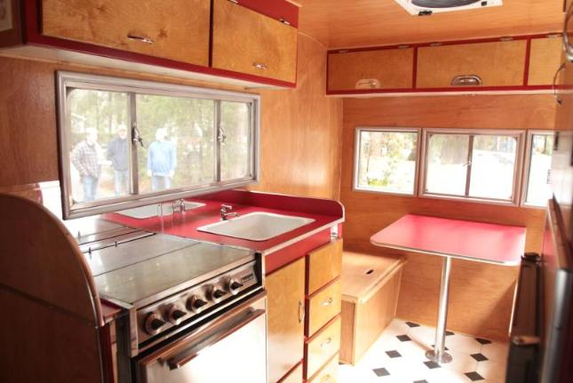 Canned Ham Trailer Interior Ideas