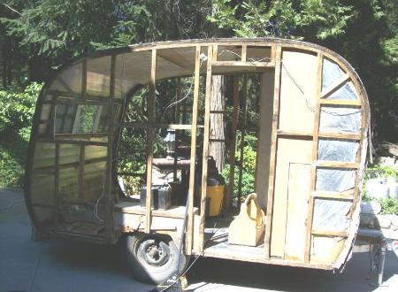 Sierra Trailer Restoration 1953 United Canned Ham
