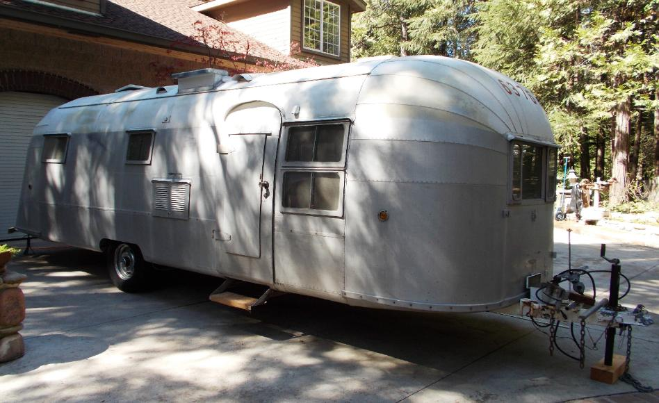 Sierra Trailer Restoration 1954 Airstream