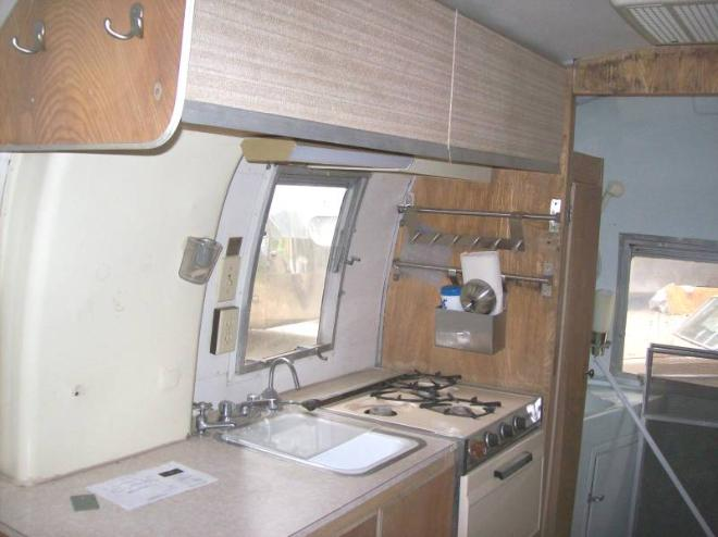 Sierra trailer restoration 1966 airstream caravelle - Airstream replacement interior panels ...